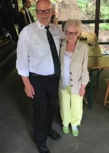 Kaiserpaar Bernd und Erika Landwehr